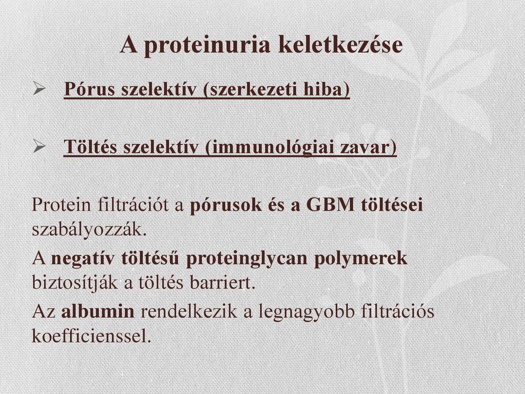 proteinuria hipertóniával)