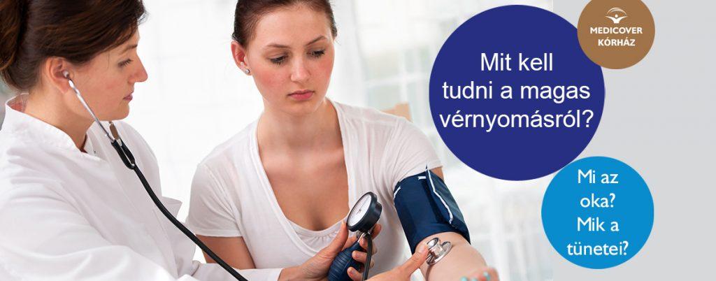 magas vérnyomás és a belek)