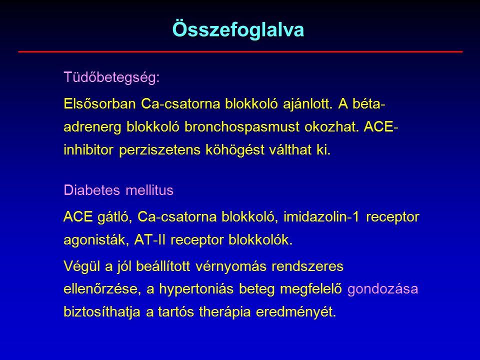 magas vérnyomás adrenerg blokkolók