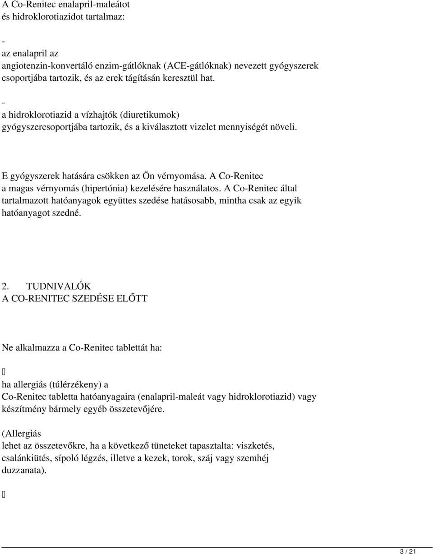 lorista n hipertónia kezelése)