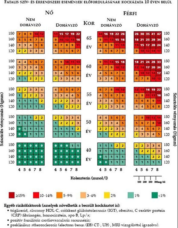 A magas vérnyomás CVD kockázata)