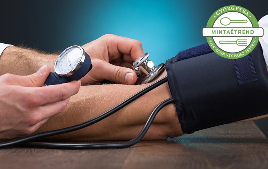 melyik étrend jobb a magas vérnyomás esetén