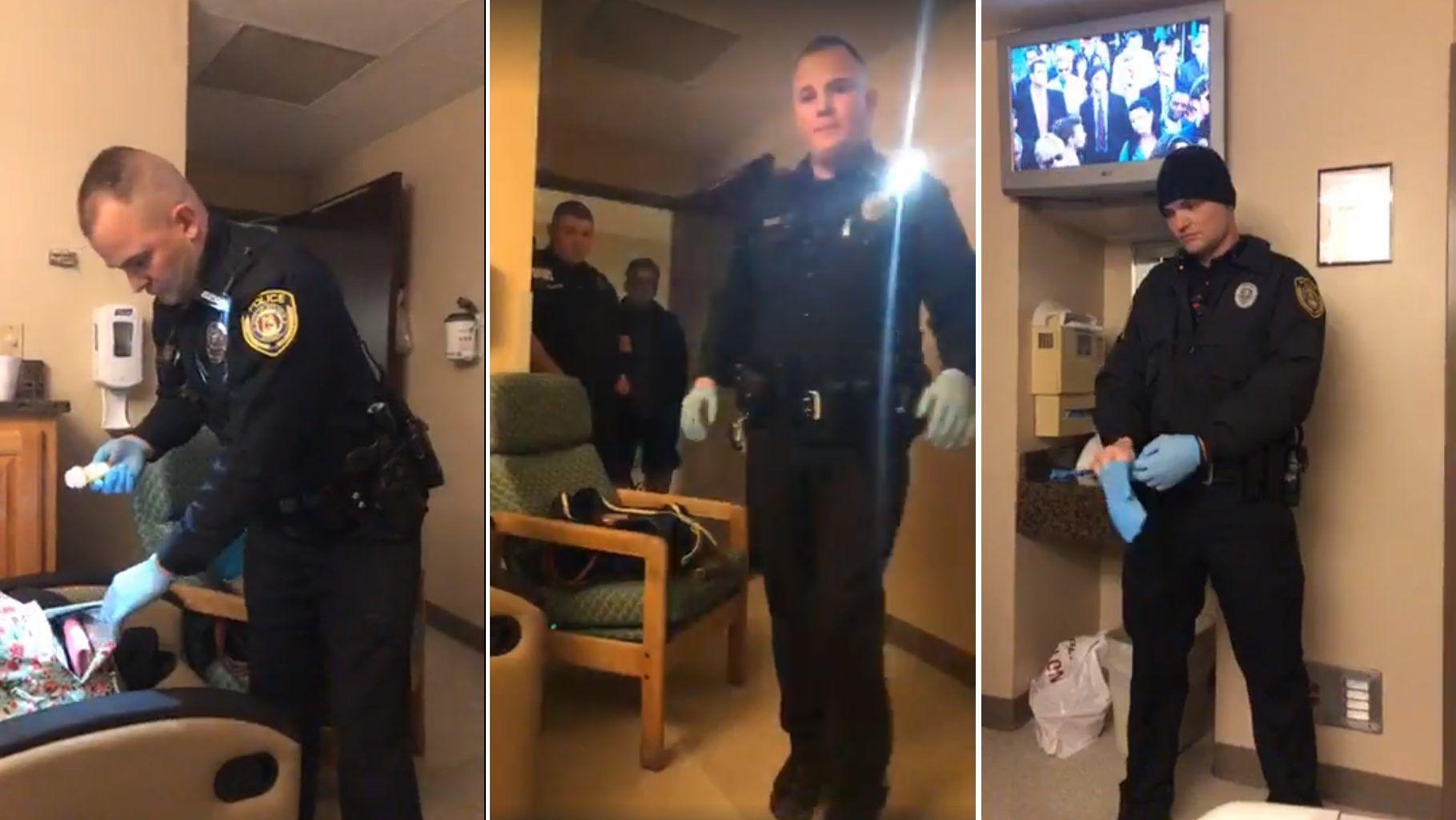 magas vérnyomás és a rendőrség