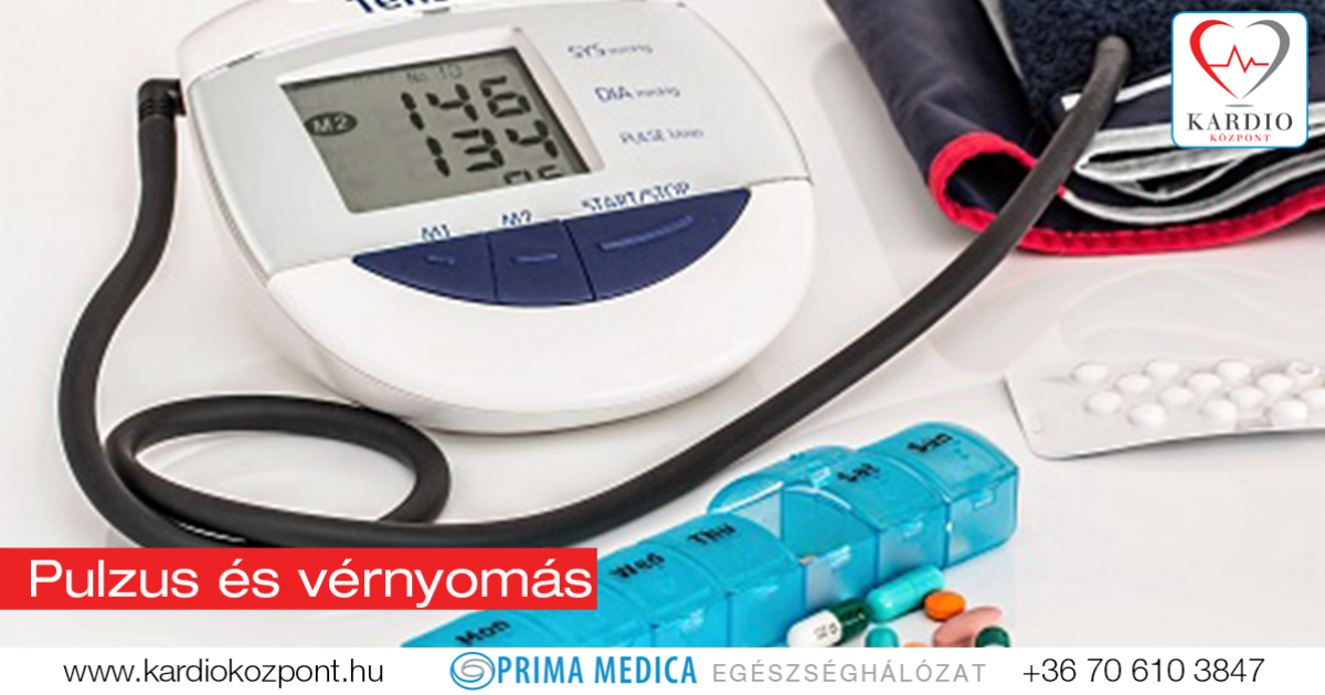vérnyomáscsökkenés és pulzus magas vérnyomás esetén)