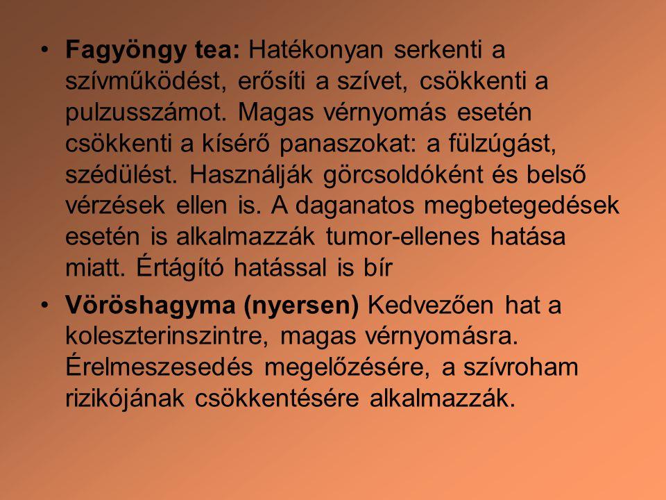 magas vérnyomás esetén vizelethajtókat kell inni)