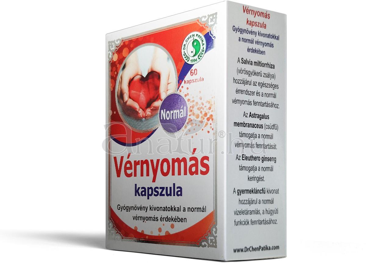 gyógynövényes gyógyszerek magas vérnyomás ellen)