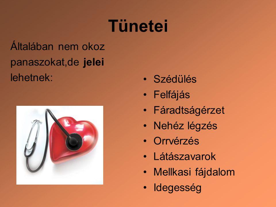 magas vérnyomás diagnózisa és kezelése)