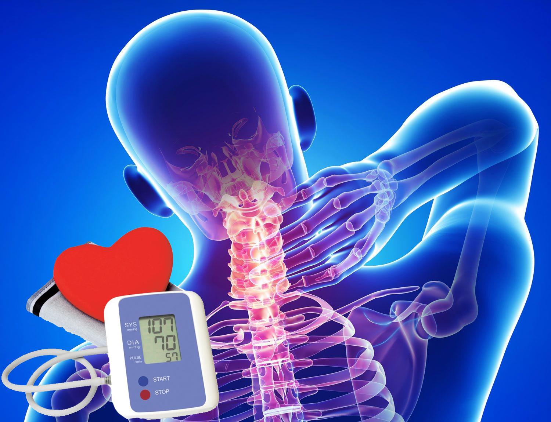 Az artériás hypertonia + és a nyaki osteochondrosis