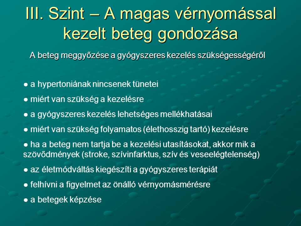 a magas vérnyomás tünetei nőknél 3 stádium)
