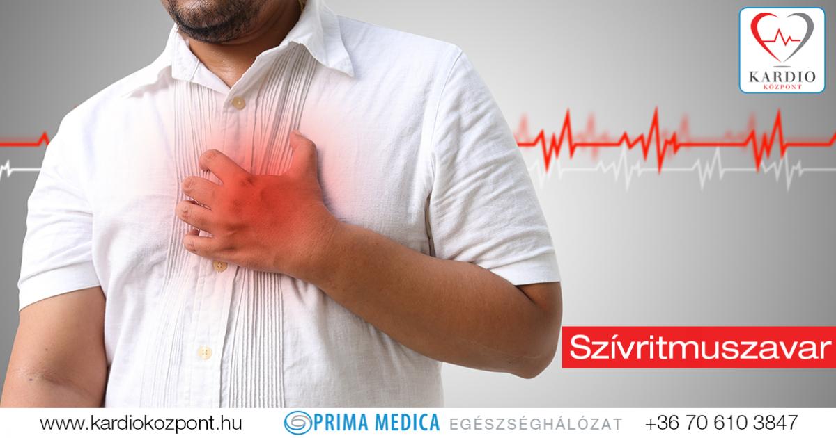 szívritmuszavarok magas vérnyomásban