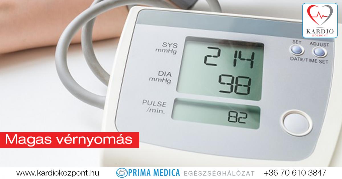 magas vérnyomás a tüdőből