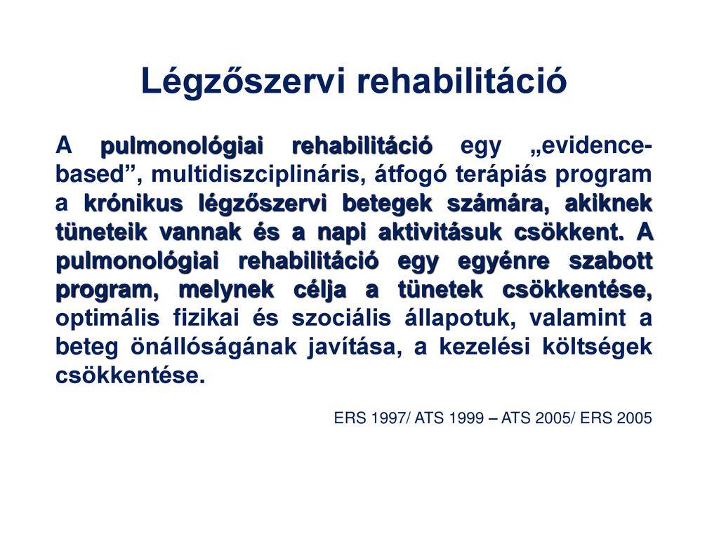 a hipertónia fizikai rehabilitációja