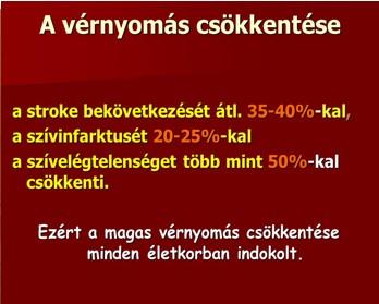 nyomás és a magas vérnyomás tünetei)