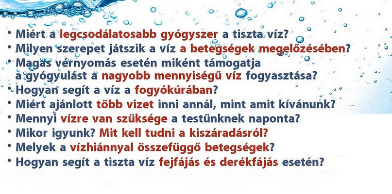 magas vérnyomás esetén vizet kell inni)
