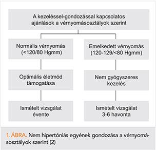 ajánlások az 1 fokozatú magas vérnyomásról)