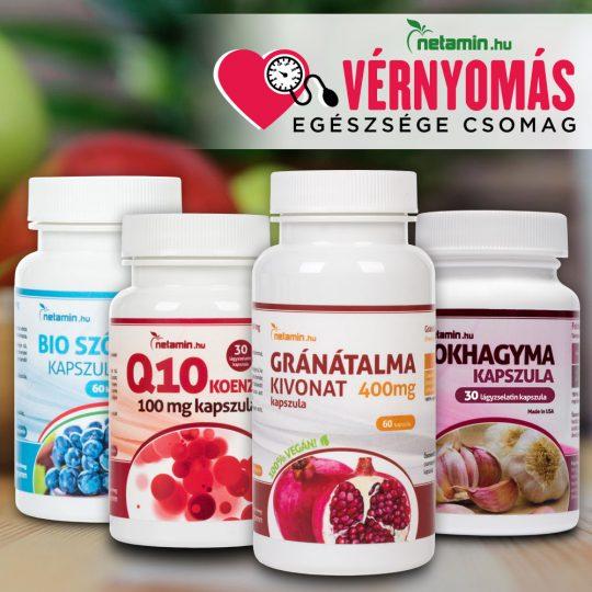 magas vérnyomású étrend-kiegészítők amelyek segítenek