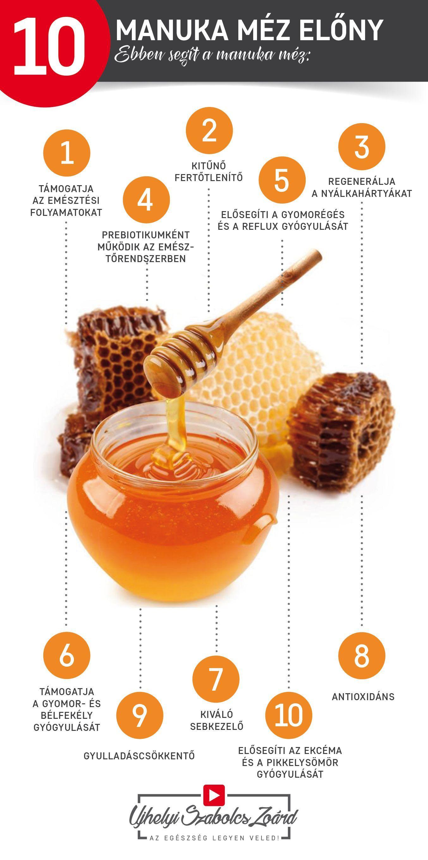 a méz segít a visszérben