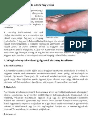 magas vérnyomás és köszvény kezelés)