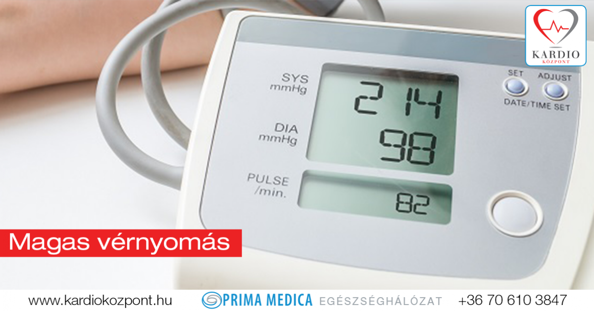 magas vérnyomás amikor a vér