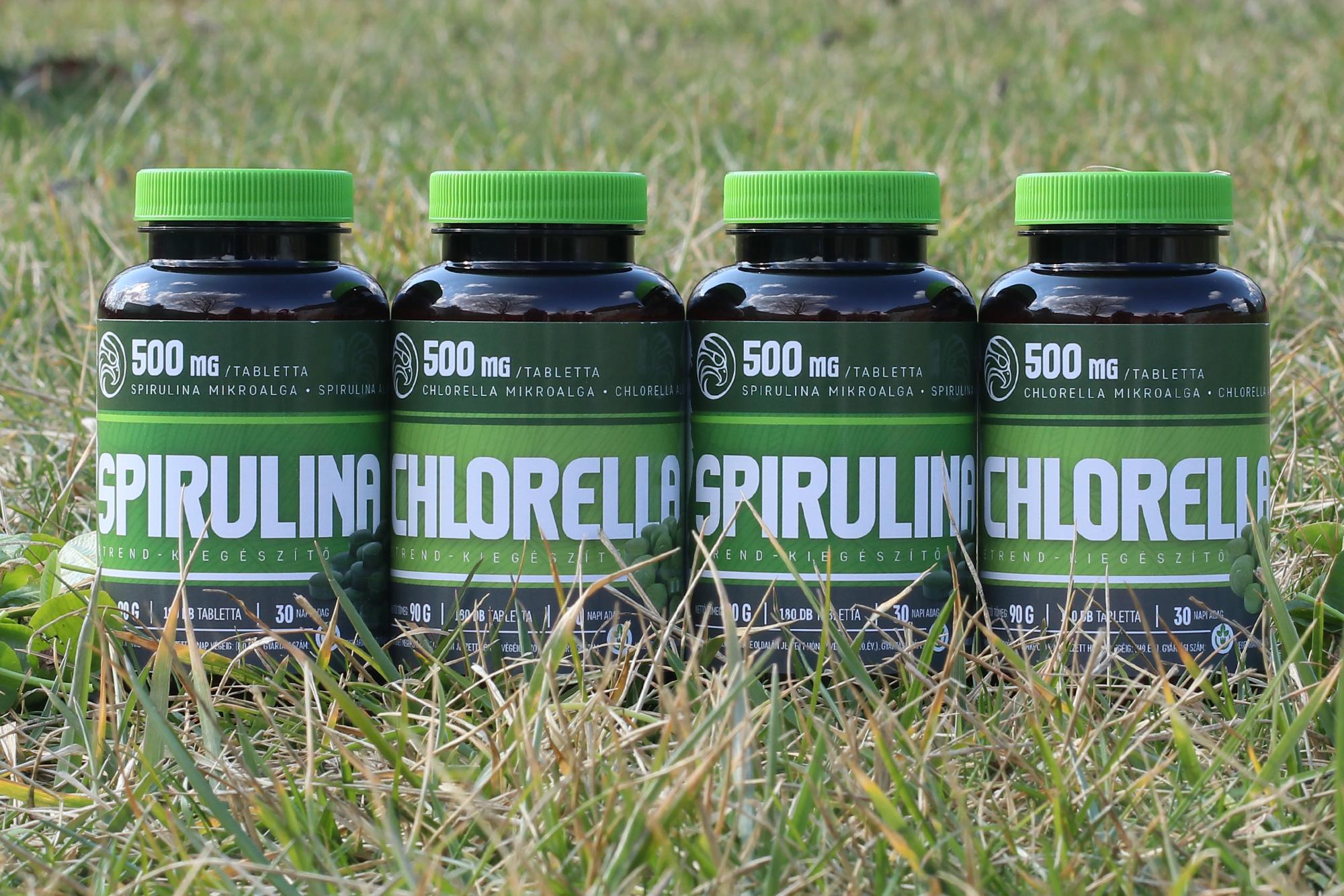 hogyan kell szedni a spirulinát magas vérnyomás esetén
