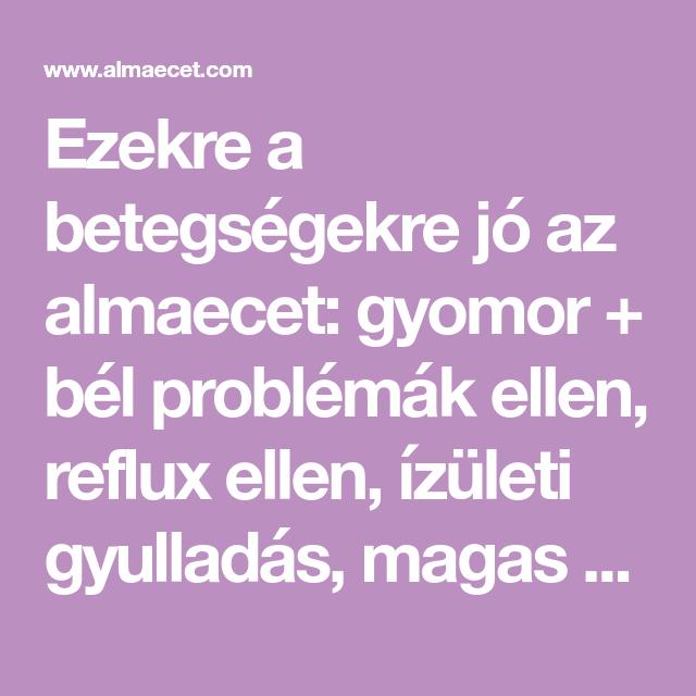 gyomor és magas vérnyomás)