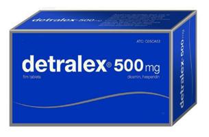A hipertónia Detralex alkalmazása
