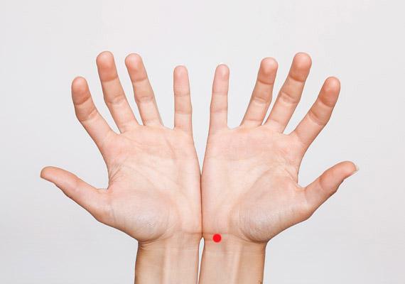 akupresszúra magas vérnyomás esetén)