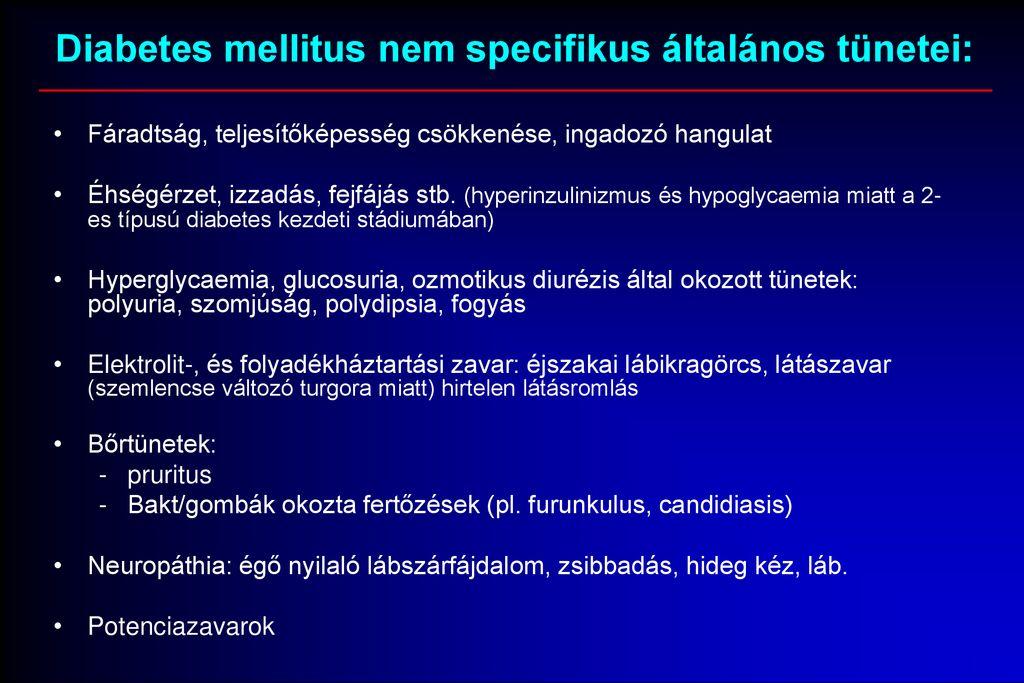 fogyatékosság diabetes mellitus magas vérnyomás)