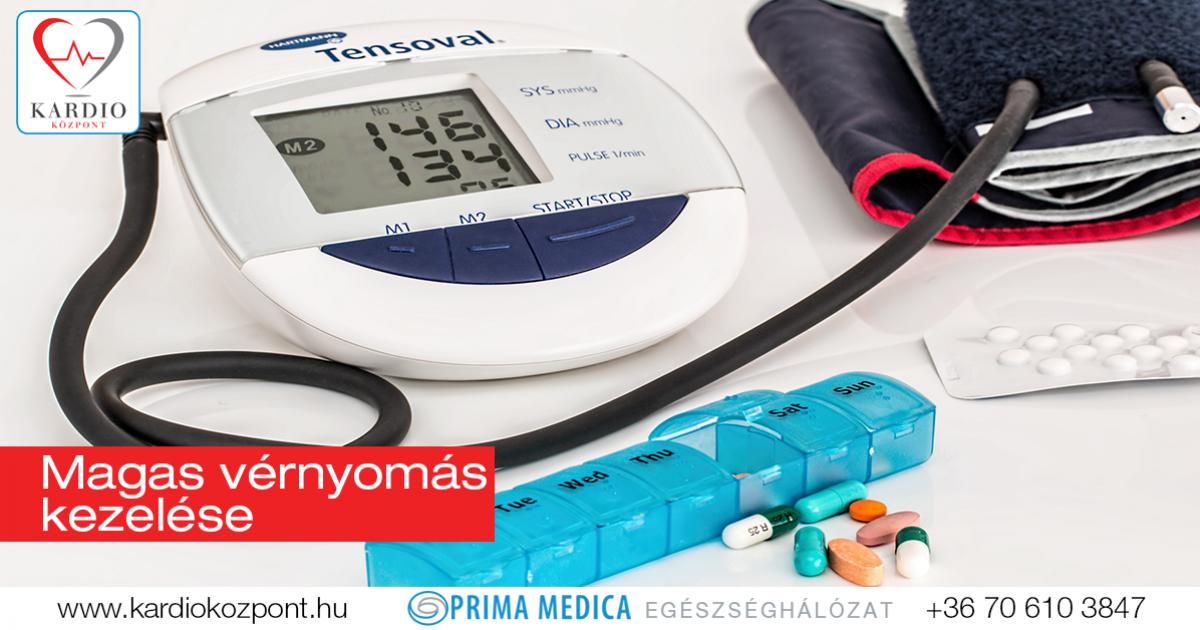 közepesen magas vérnyomás kezelés)