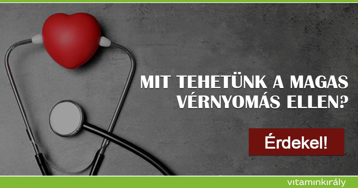 étrend a szív és az erek magas vérnyomás betegségei ellen)